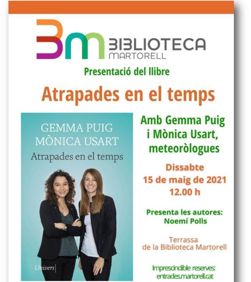 Presentació 'Atrapades en el temps' de Mònica Usart i Gemma Puig