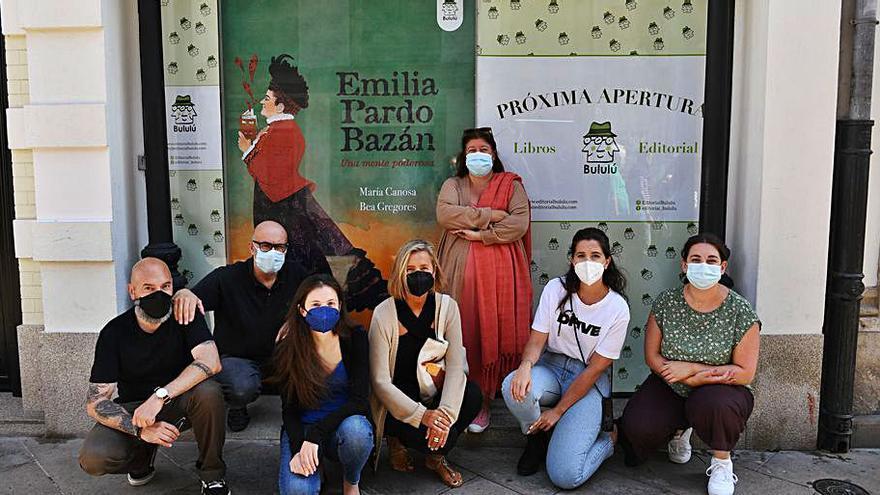 La editorial Bululú abre su nueva sede en la calle Real