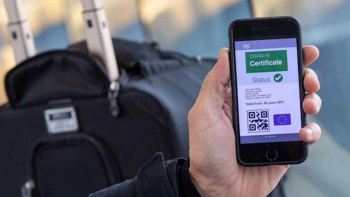 El pasaporte covid entrará en vigor el 1 de julio, pero ya se puede solicitar