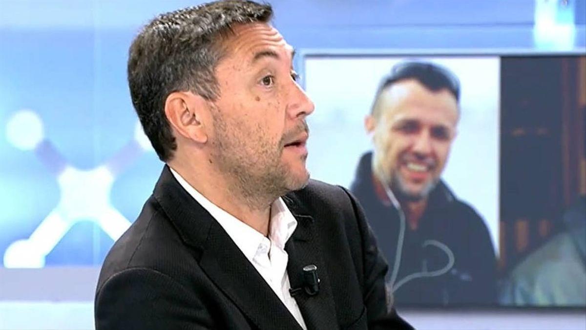 Javier Ruiz en 'El programa de Ana Rosa'.