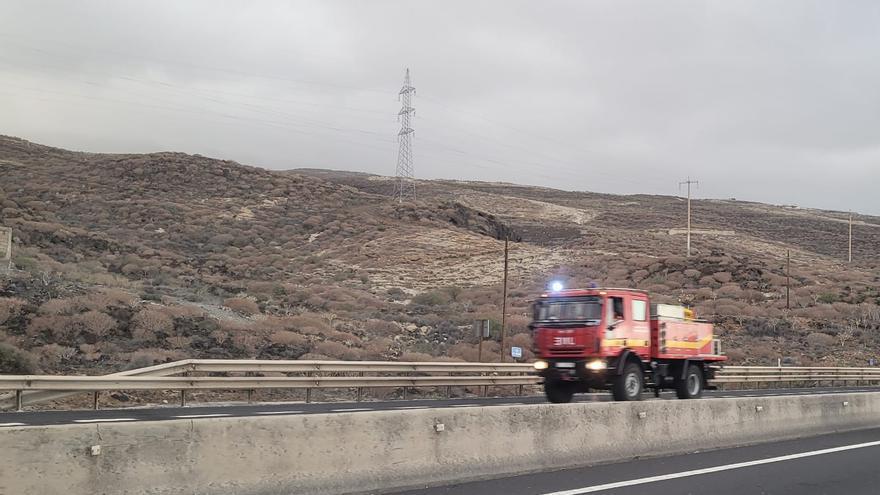 Traslado de efectivos a La Palma.