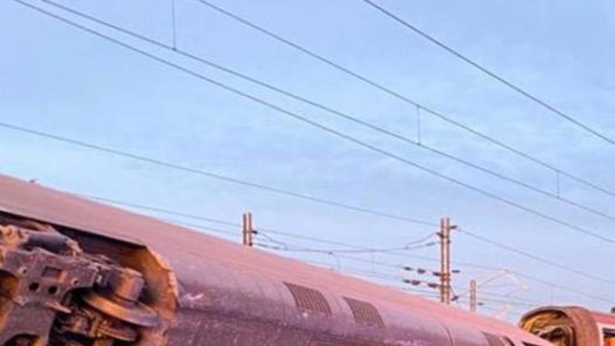 Accidente de tren en el norte de Italia