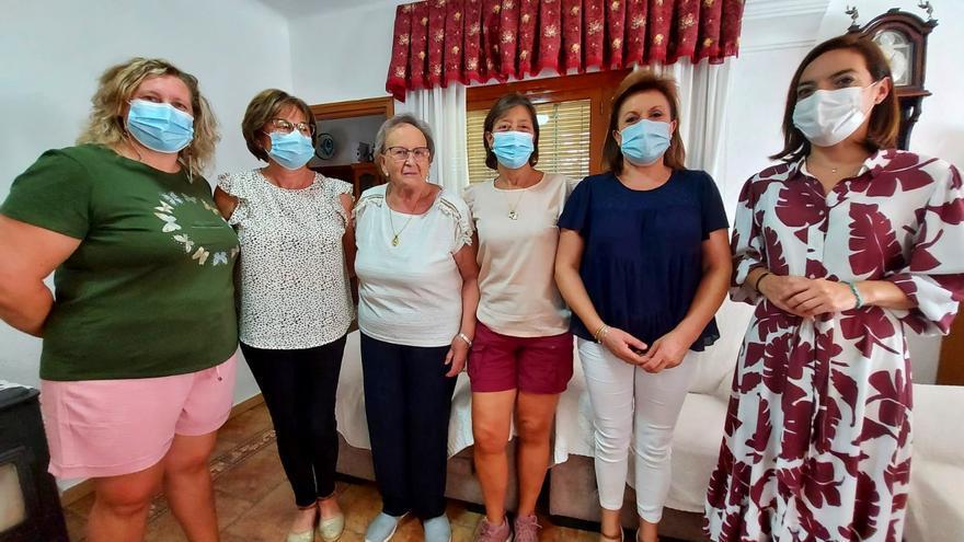 La modista Ignacia López Moya, 'Mujer Rural' de 2021 en Caravaca