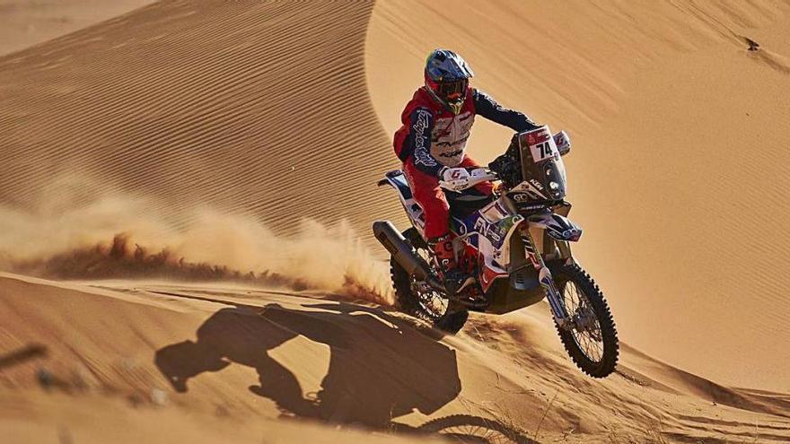 Una etapa del Dakar per no prendre mal