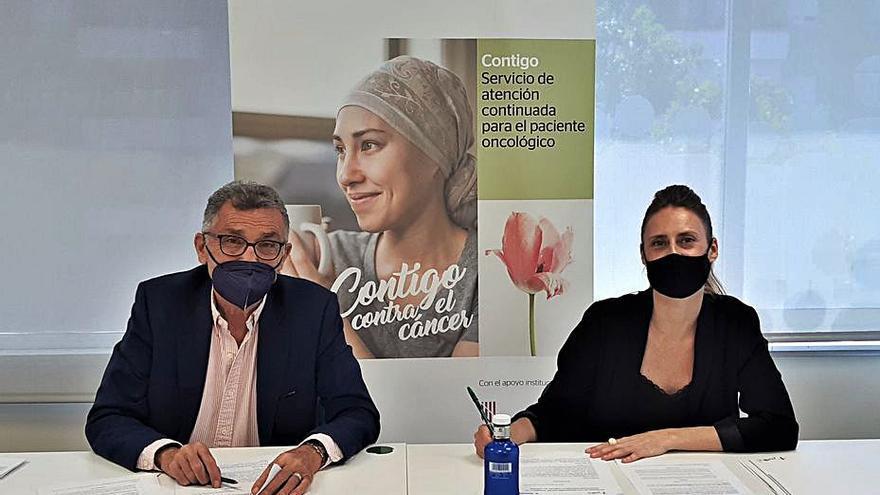 El servicio 'Contigo' ha atendido a más de 120 personas con cáncer desde 2017