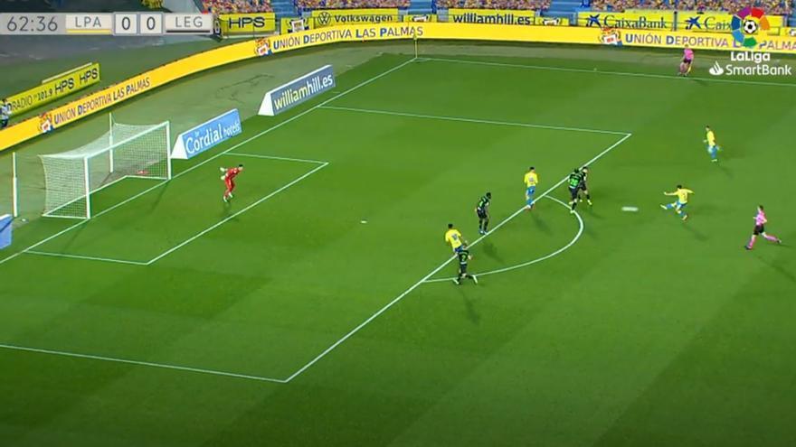 Vídeos de los goles y resumen del partido UD Las Palmas 2 - 1 CD Leganés