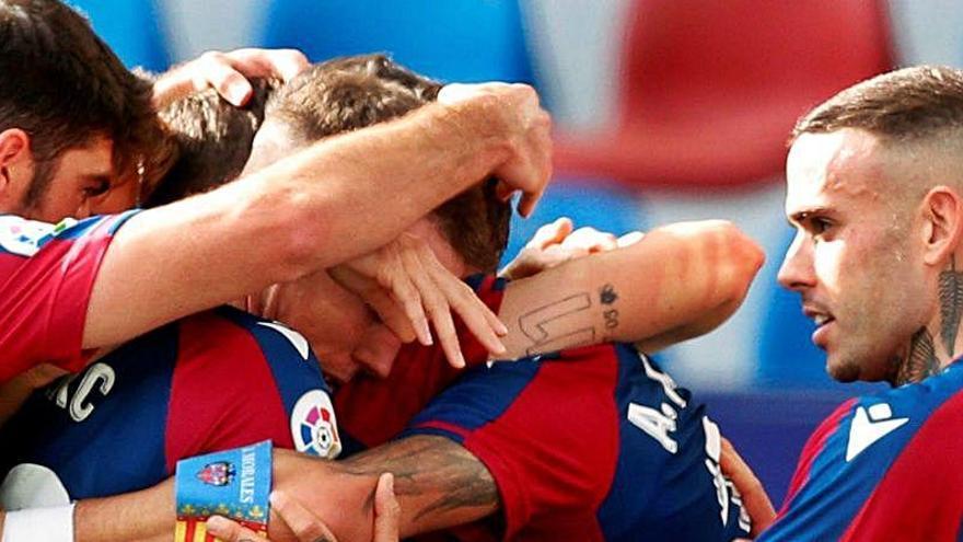 Ilusión en la vuelta al trabajo del Levante pensando en la Copa