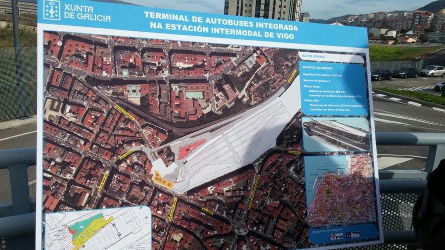 La Xunta pide celeridad al Concello en sus trámites para licitar la intermodal en el último trimestre