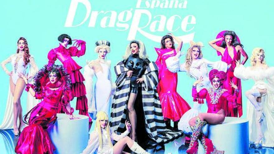 Diez 'reinas' lucharán por el trono en el espacio 'Drag race' de Atresplayer