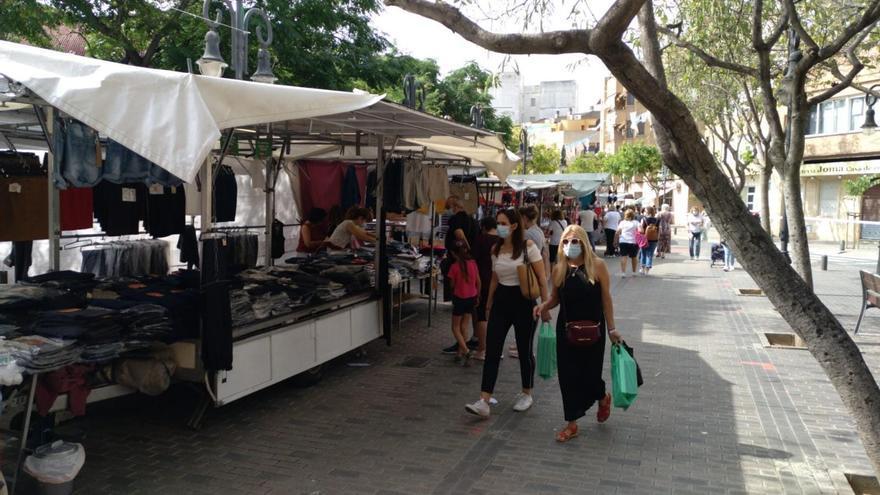 Vuelve el mercado ambulante de Aldaia este miércoles