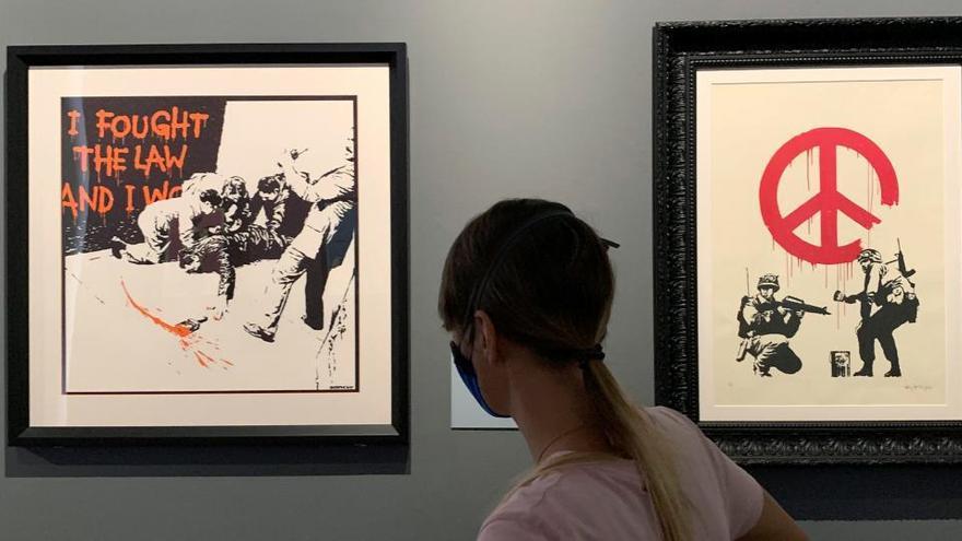 Banksy y Rafael, unidos en una muestra única en Roma