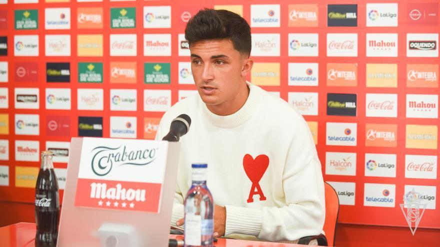 """La despedida de Manu García del Sporting: """"Que sea un hasta pronto"""""""