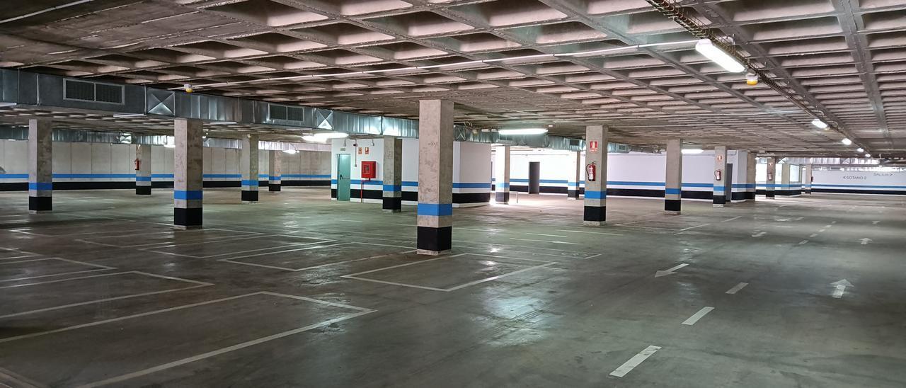 Nuevo aparcamiento en Vecindario.
