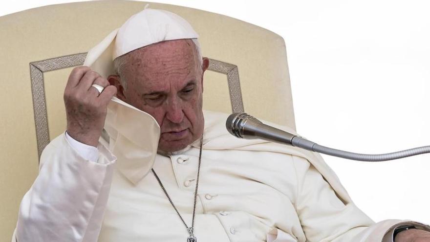 Un residente de la casa del Papa da positivo en Covid-19
