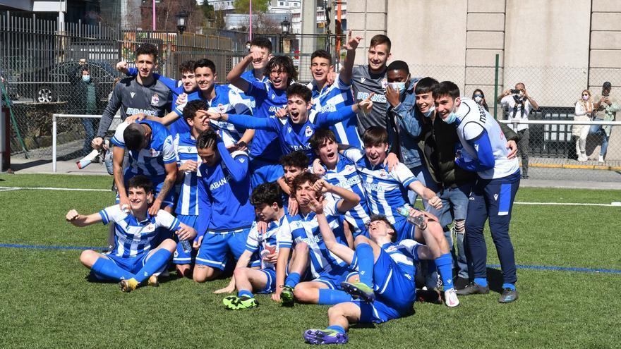 El Dépor, campeón del grupo gallego