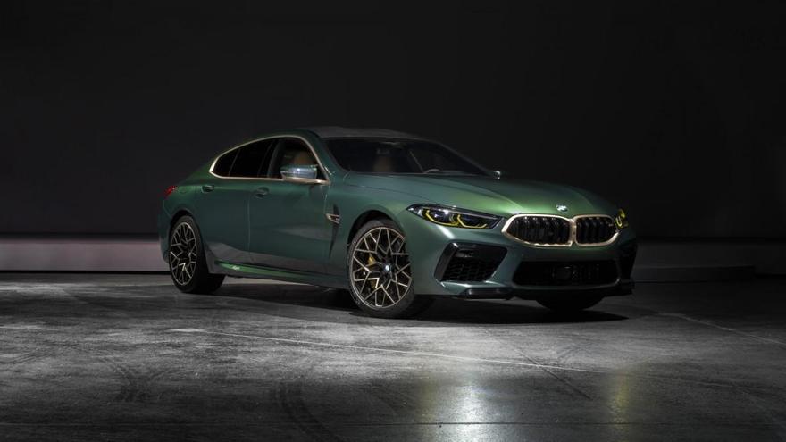 El nuevo BMW M8 Gran Coupé First Edition ya tiene precio en España