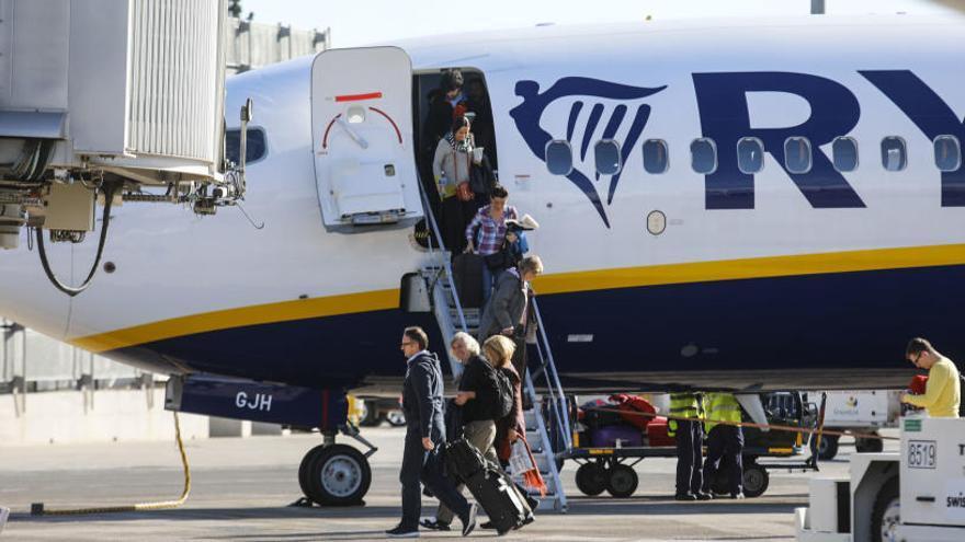 """Ryanair: """"La sentencia no afectará a la política de equipajes de la compañía"""""""
