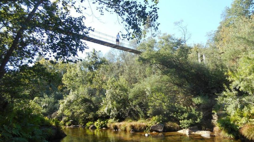 """Los puentes colgantes de Galicia que """"compiten"""" con los faraónicos de Portugal"""