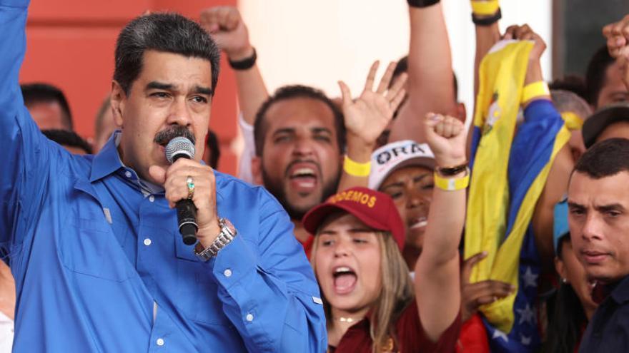 Maduro denuncia a EEUU por crímenes de lesa humanidad