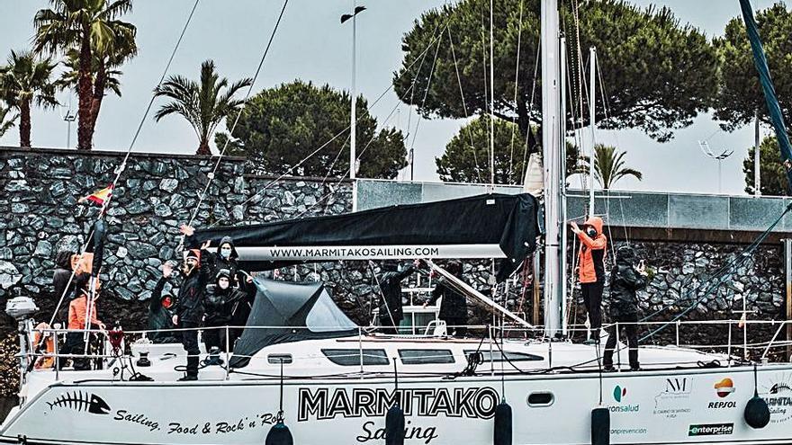 "Vilagarcía espera al ""Marmitako"" tras partir ayer de Hondarribia"