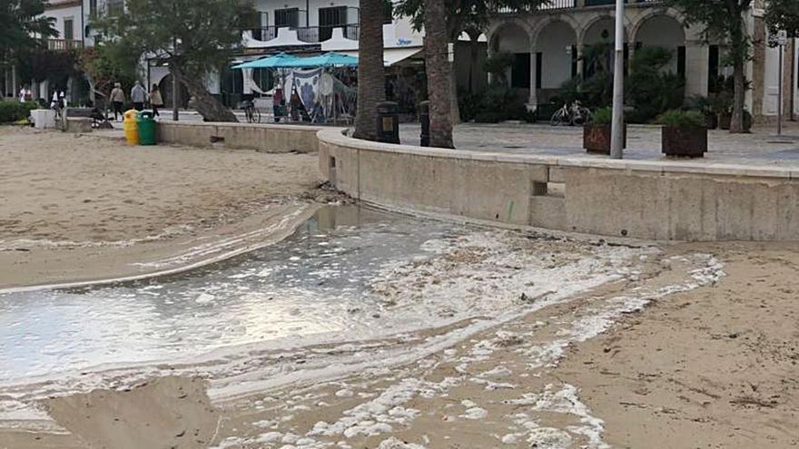 Denuncian nuevos vertidos de fecales en el Port de Pollença