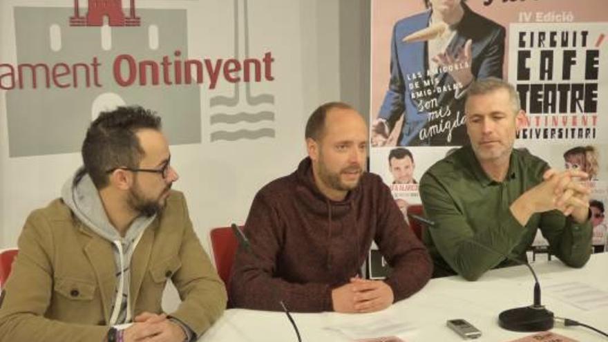 El actor y humorista Luis Piedrahita corona  las actuaciones del café teatro de Ontinyent