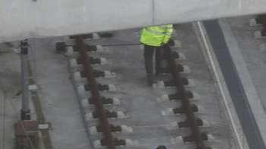 La Policía Nacional identifica a la persona que se electrocutó en la estación de Urzáiz