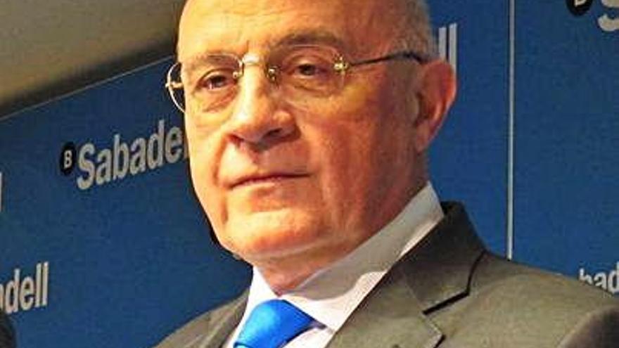 Sabadell allunya una fusió amb Bankia però no veu el nou Govern com un impediment