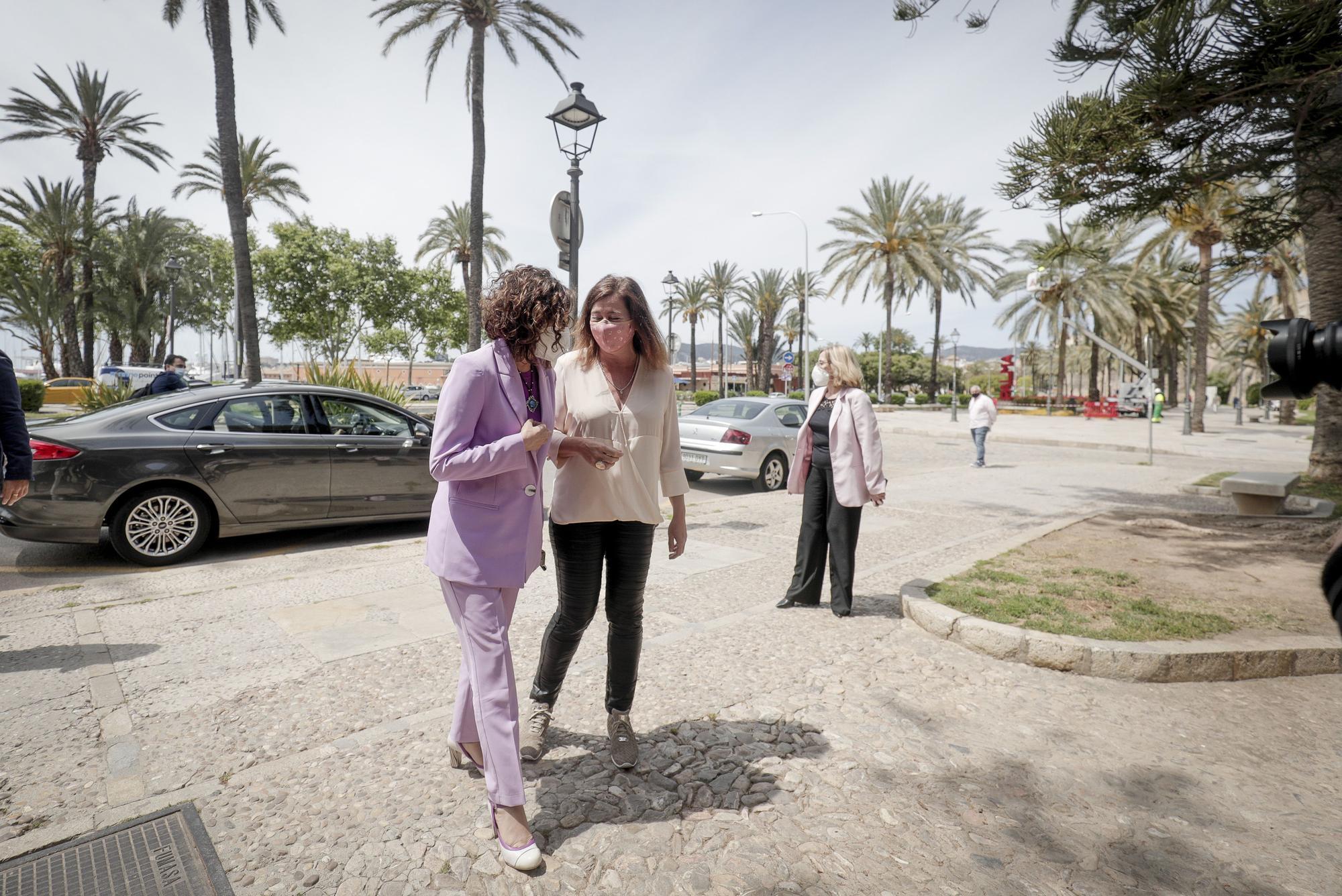 La ministra Montero promete negociar, pero da por cumplido el REB
