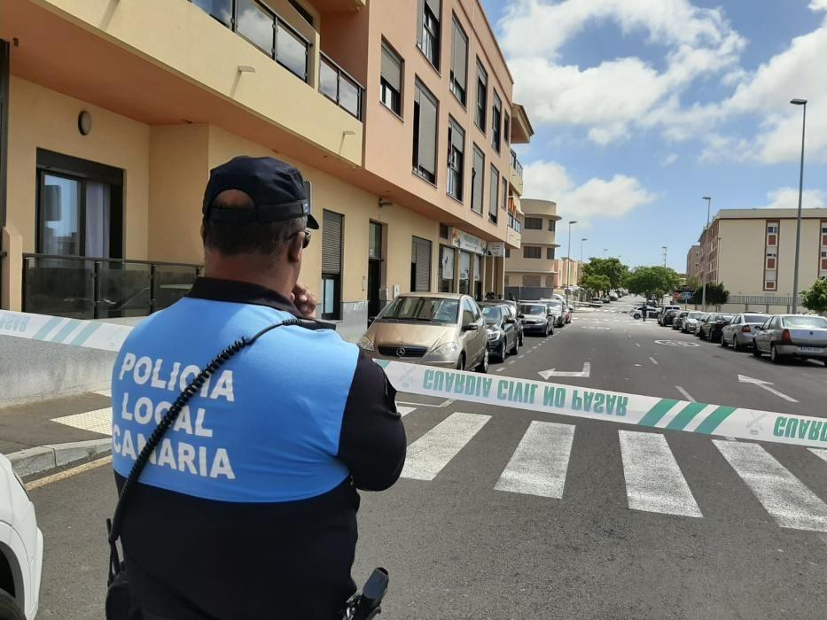 Hallan el cadáver de un hombre en Tenerife