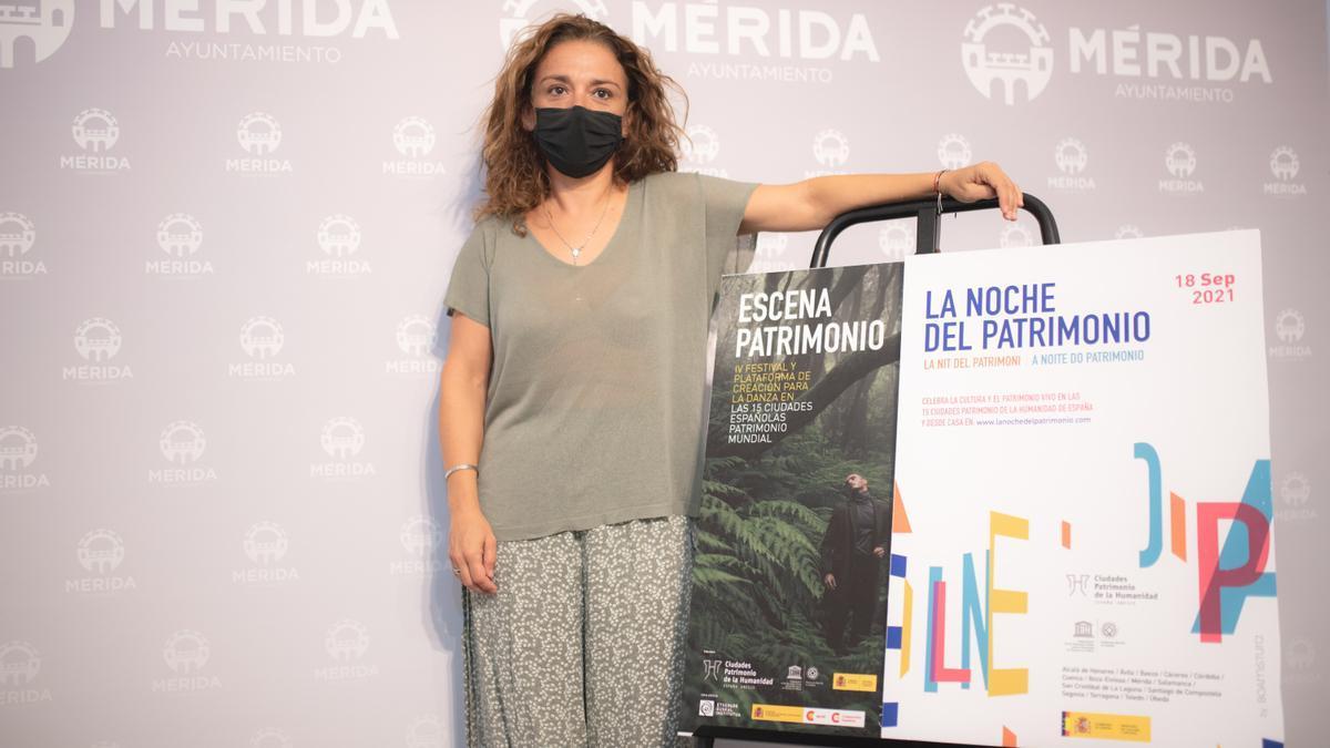 La delegada de Cultura, Silvia Fernández, ayer en rueda de prensa.