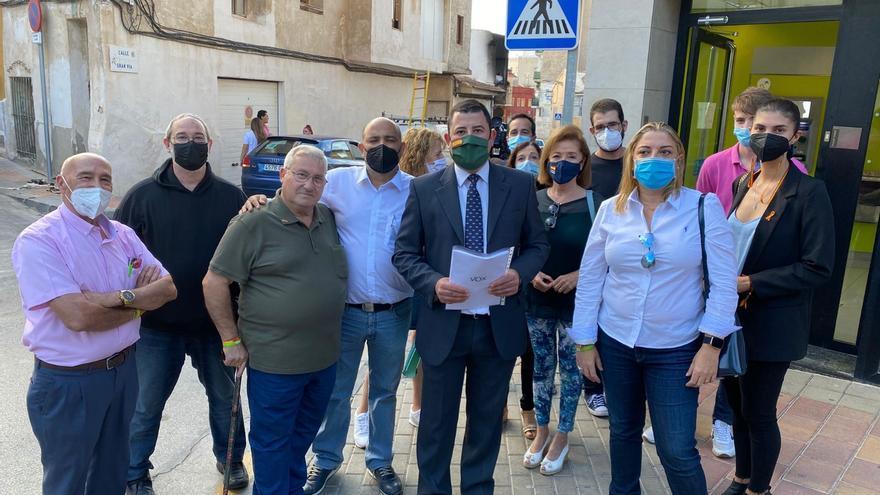 """Vox pide la dimisión de la concejala de Seguridad de Molina por """"los incesantes actos de violencia"""""""