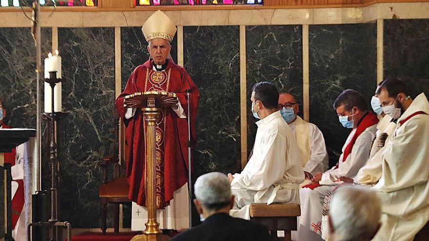 El obispo preside la inauguración del curso del Instituto Teológico