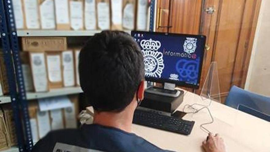 Detenido en Benidorm un hombre acusado de una simulación de delito