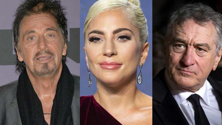 De Niro y Al Pacino se suman a Lady Gaga en el biopic de los Gucci