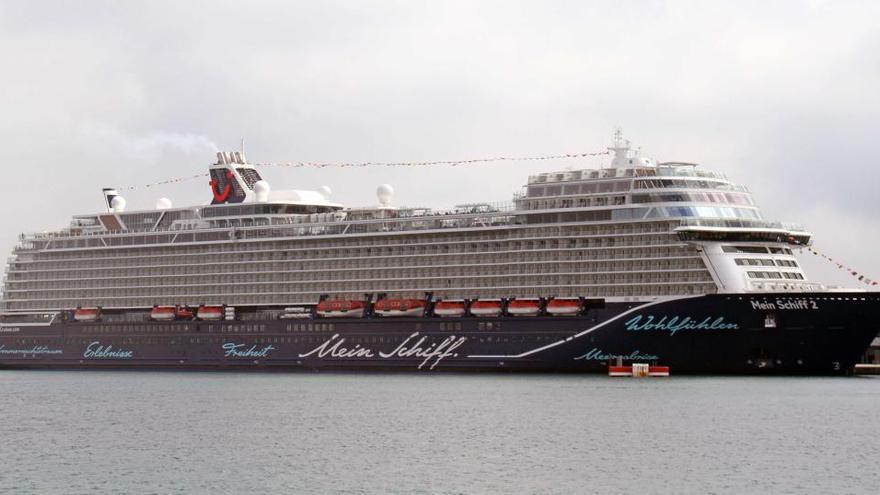Das erste Kreuzfahrtschiff seit 15 Monaten steuert Mallorca an