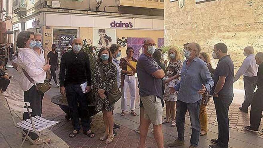 Los vecinos del centro, preocupados por la actividad de los artistas callejeros