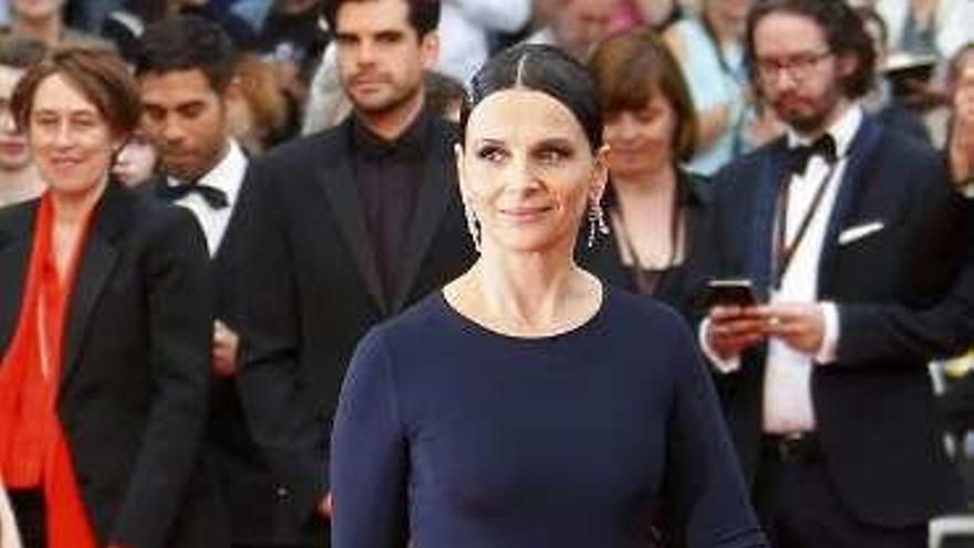 Juliette Binoche emociona en Peralada recordando a la cantautora Barbara