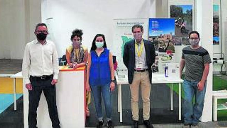 Sant Joan de Vilatorrada participa en la B Travel de Barcelona amb la visita a cegues i els Embarrats