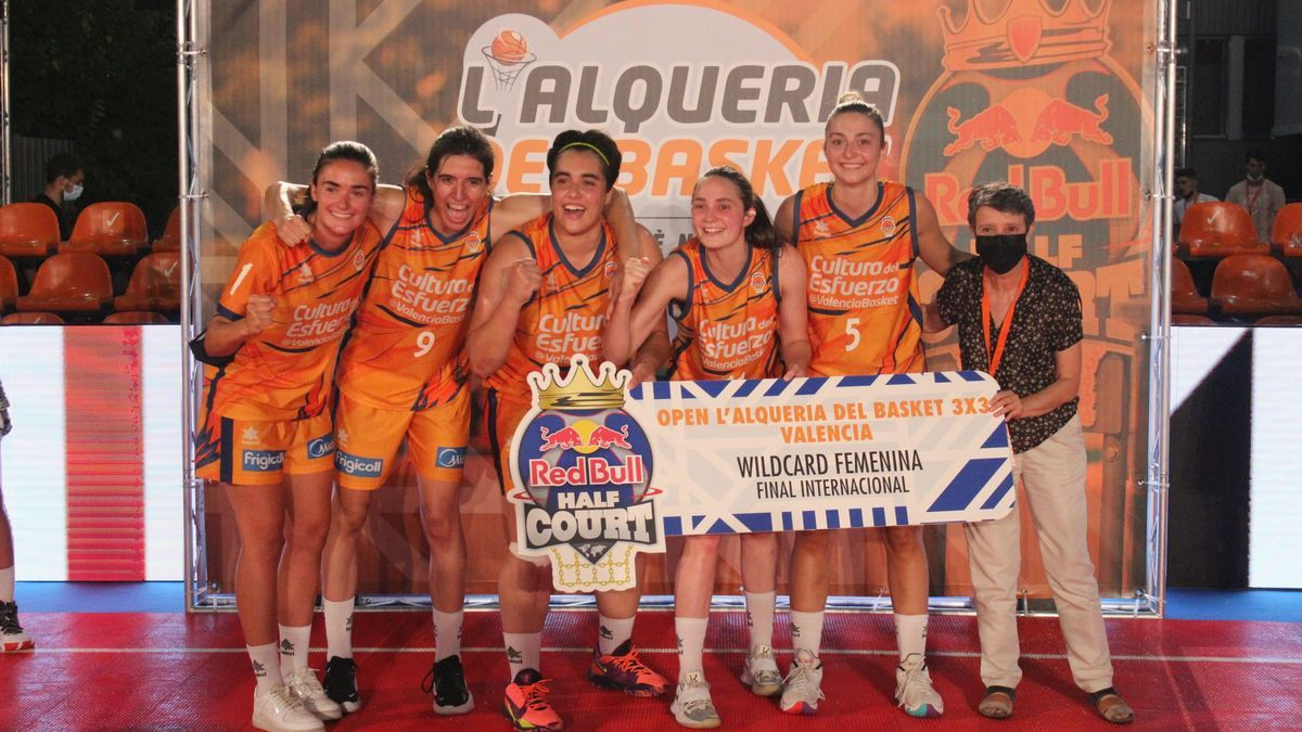 Las chicas de Valencia Basket 3x3 están listas para la gran semana final