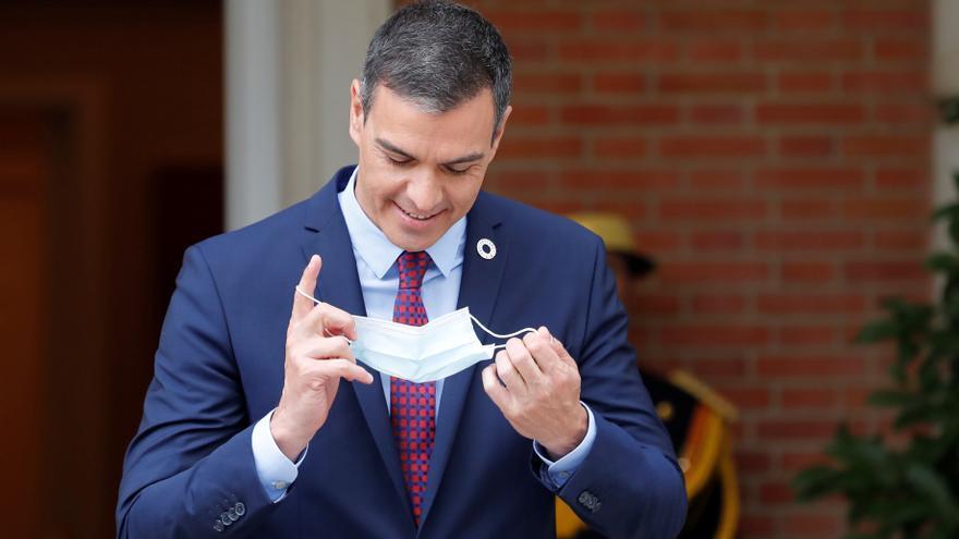 El presidente Pedro Sánchez