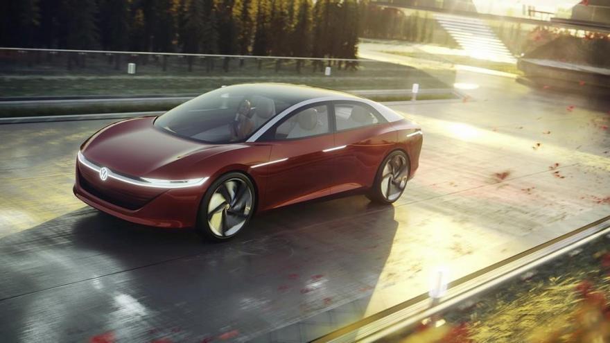 Volkswagen desarrolla una berlina eléctrica de gran autonomía