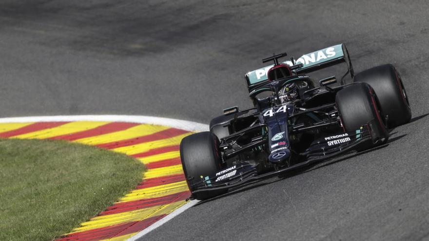 Hamilton fue el más rápido en el último ensayo libre de Spa