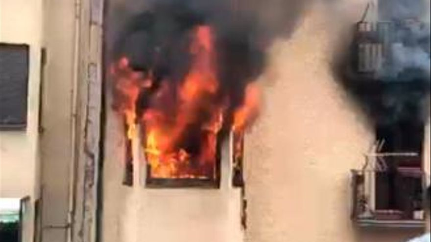 Un gallego fallece en el incendio de un edificio en Andorra