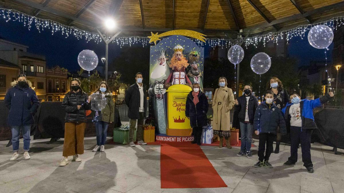 Iluminación navideña en Picassent