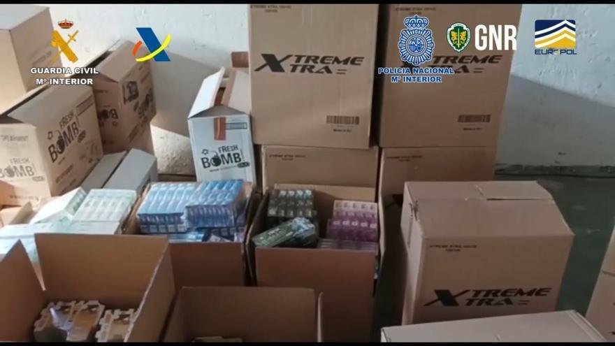 VÍDEO | Así fue la operación de la Guardia Civil para desarticular la red de venta ilegal de tabaco en Zamora