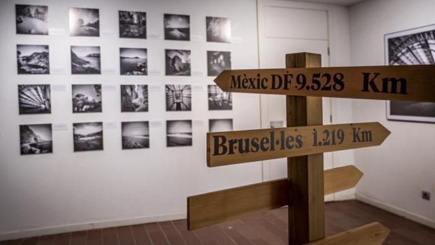 Francesc Galí proposa una reflexió sobre l'exili amb imatges amb «visió poètica»
