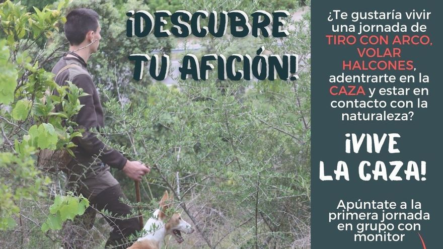 La primera jornada dirigida a jóvenes interesados en la caza será el 17 de julio