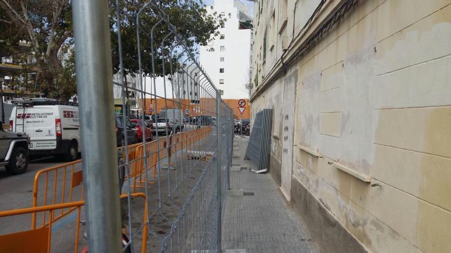 Comienzan los trabajos de demolición del último edificio de Santa Margarita