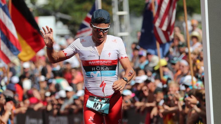 Gómez Noya gana su primer Ironman en Malasia